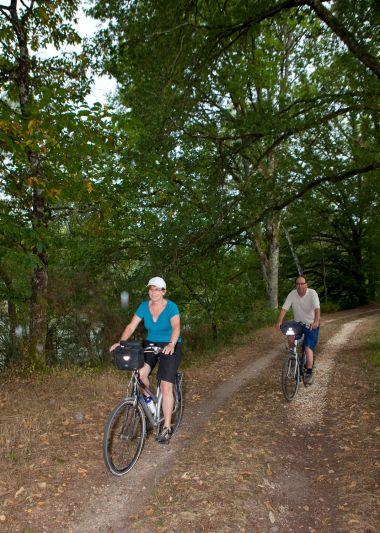randonnée pied vélo cheval Périgord Vert