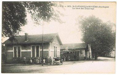 Station van Saint Pardoux la Rivière