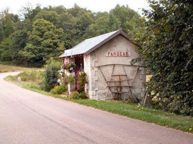 Station van Abjat sur Bandiat