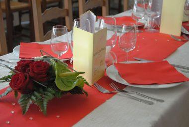 Mariage et roses
