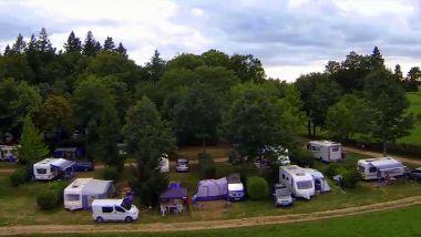 campsite pitches Dordogne