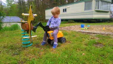 Kinderen zijn dol op tractoren