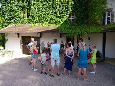 Visite of the Château le Verdoyer