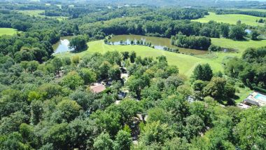 Ponds in the natural setting of the Green Perigord