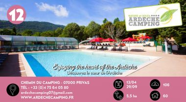 Ardèche Camping à Privas en Ardèche