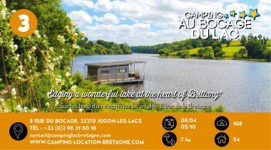 Le Bocage du Lac à Jugon les Lacs en Bretagne