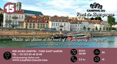 Le Pont de Bourgogne à Chalon sur Saône en Bourgogne