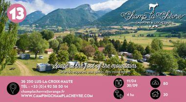 Champ la Chèvre à Lus-la-croix-haute en Drôme