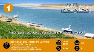 Château des Tilleuls à Port le Grand en Baie de Somme