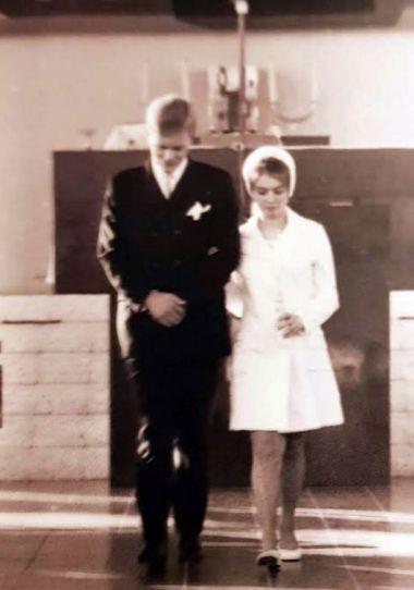 03 oktober 1969, bruiloft met Ineke