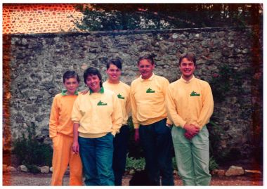 1989 - la famille Ausems