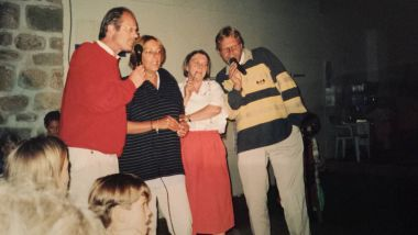 Soirée Karaoké avec Ad Hesbeen et mesdames