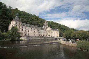 Brantôme - abbey from the 8th century