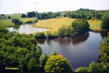 étang de pêche et étang de baignade, eau contrôlée
