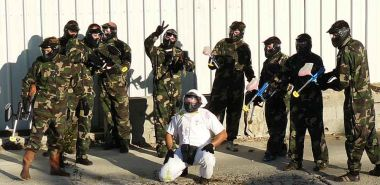 Paintball in Milhac de Nontron