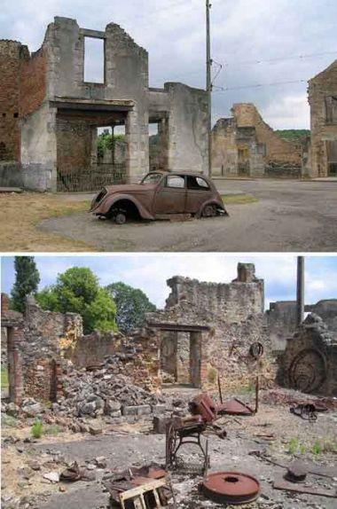 Oradour sur Glane - le village martyr