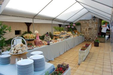 Buffet campagnard ou plus fourni !