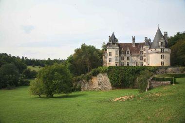 Château de Puyguilhem (Villars) - La façade