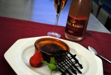 Crème Brûlée au Safran de Champs Romain Veuve Amiot