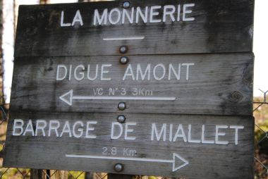 Randonnée Miallet Barrage Périgord