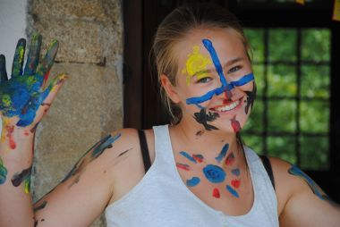Face painting or war paintings ?