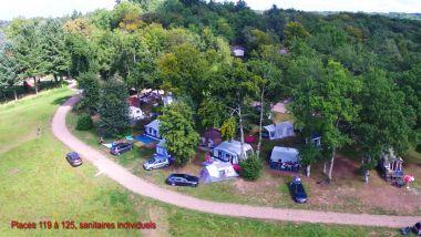 campsite pitches private bathrooms