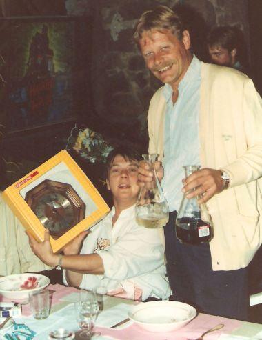 Richard en Ineke in 1990