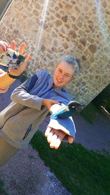 Eve en de Ijsvogel in Périgord Vert
