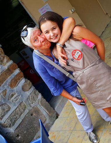 Ely en Tante Mariette, altijd met ons !
