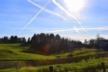 beautifull Dordogne green landscapes