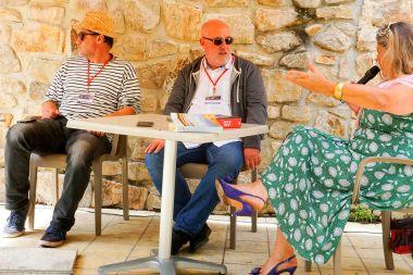 Le café Littéraire de Réjane, avec Philippe Nonie et Bruno Bouzounie