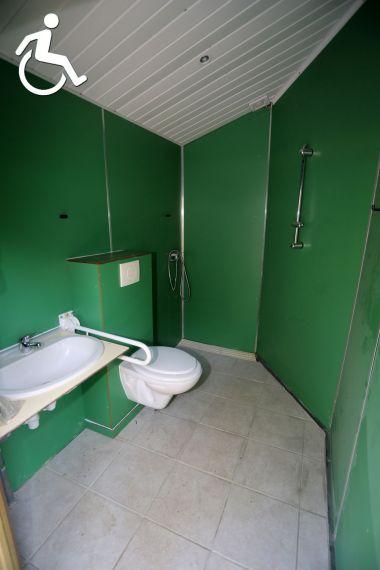 aangepaste individuele sanitairs Verdoyer