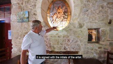 Richard en het glaswerk