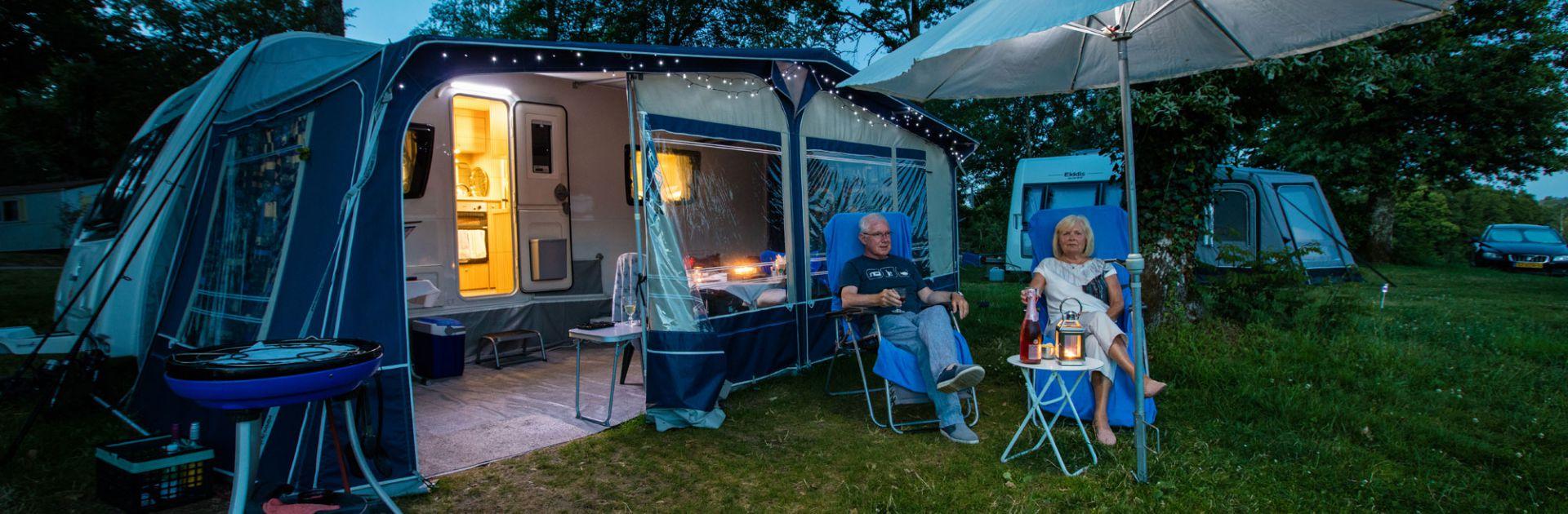 Campingplaats sanitair individueel Dordogne