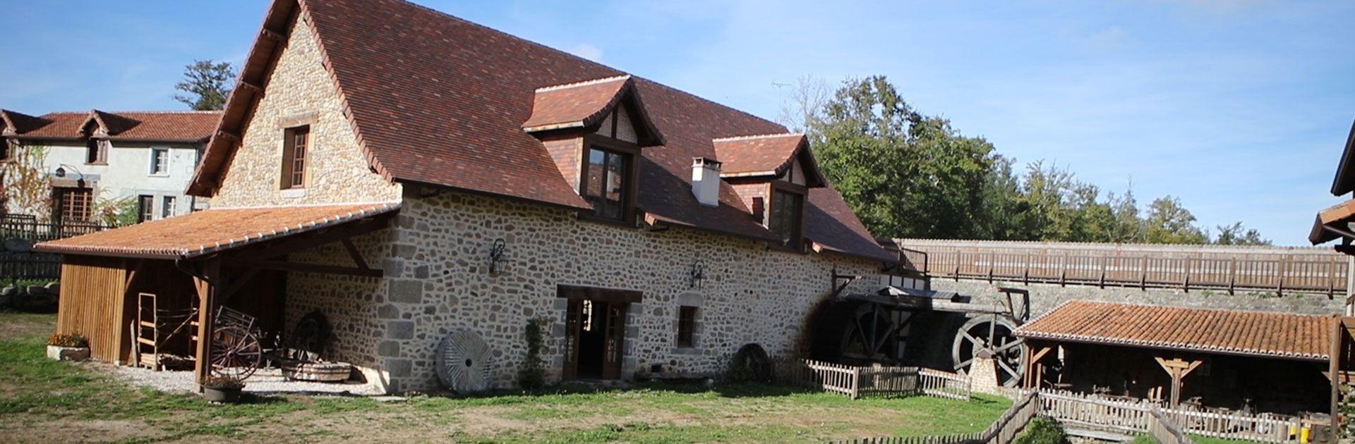 Couteau de Nontron Périgord vieux métiers artisan Moulin