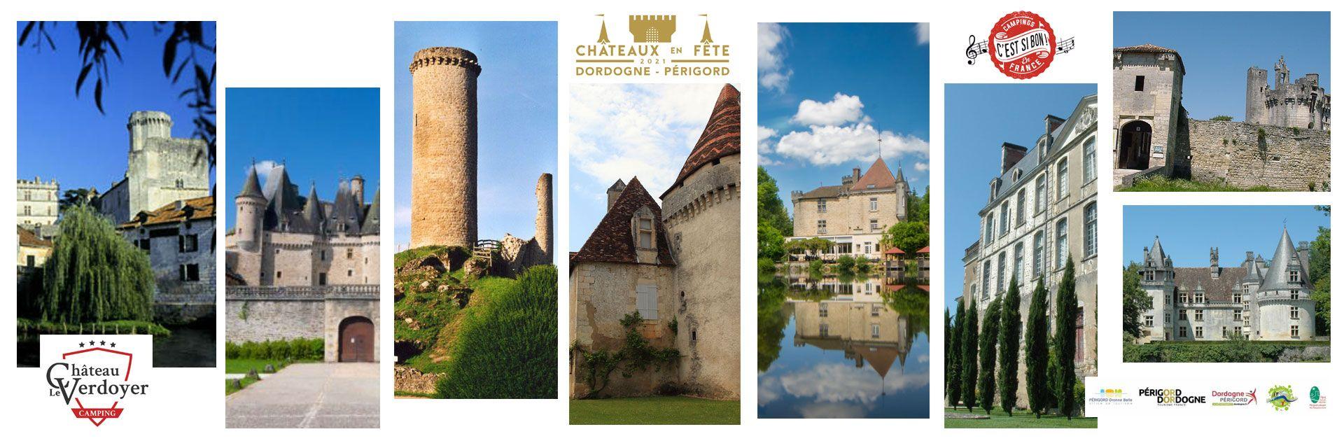 Châteaux en fête Verdoyer Dordogne Périgord Vert Kasteel Kastelenfestival