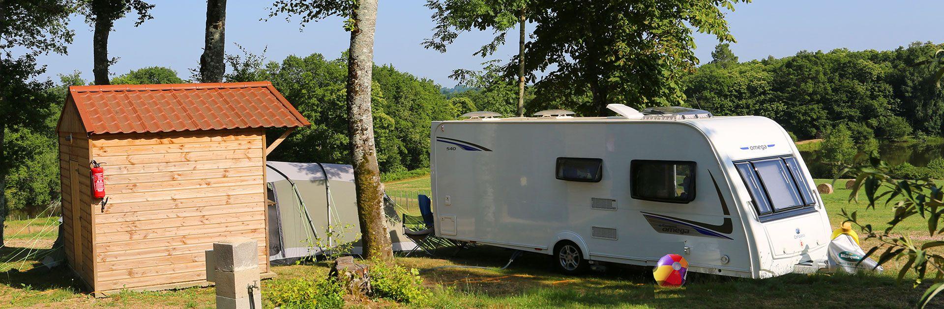 Sanitaire Individuel Camping Périgord Dordogne