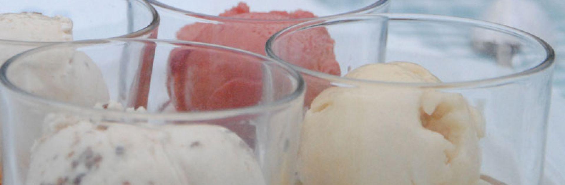 Ice, Glaces, Sorbets, vin de feste, liqueur