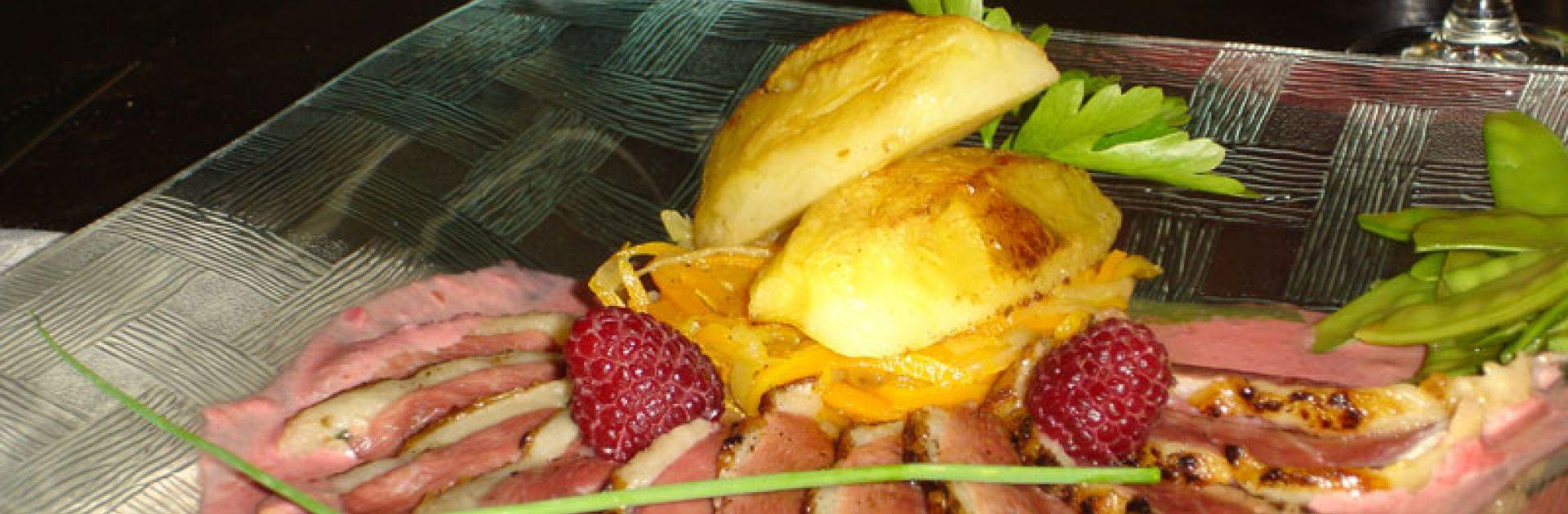 Magret de Canard du Périgord, Pommes du Limousin