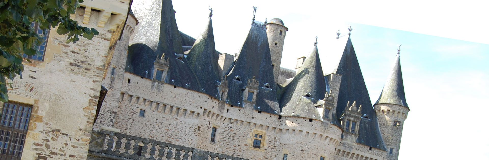 Château de Jumilhac Goud Tuin Groen Périgord Vert